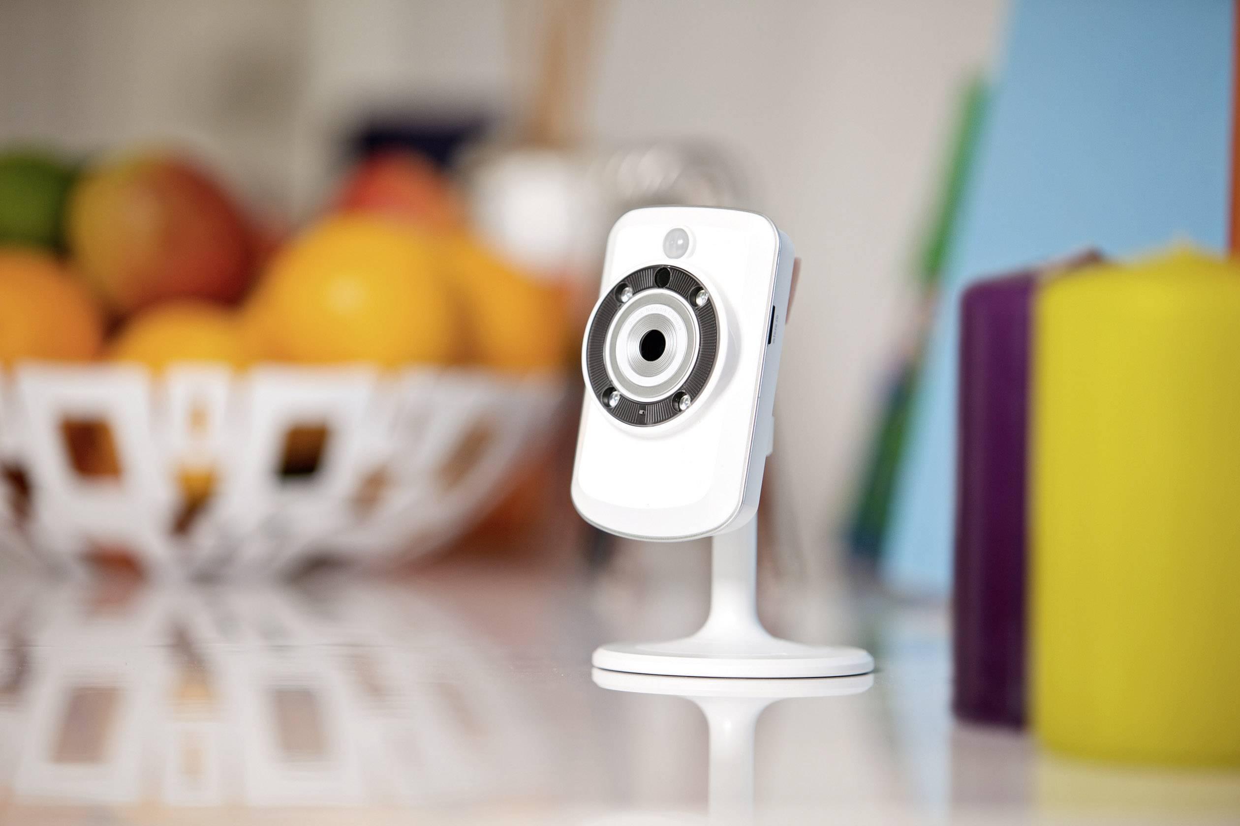 Bezdrôtová Cloud kamera D-Link DCS-933L/E s detekciou zvuku, 640 x 480 px, IR LED