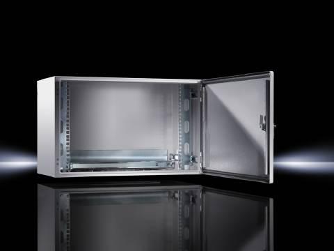 """19"""" rozvaděcí skříň Rittal 7641.000 (š x v x h) 600 x 380 x 350 mm, 8 U světle šedá"""