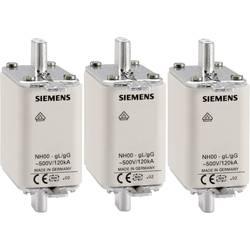 Pojistková vložka NH Siemens, vel. 000, 63 A, 3ks, 3NA3824