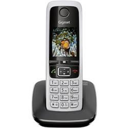 Bezdrôtový analógový telefón Gigaset C430, strieborná, čierna