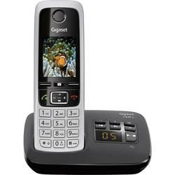 Bezdrôtový analógový telefón Gigaset C430A, strieborná, čierna