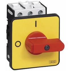 Odpínač BACO BA172102 BA0172102, 32 A, 1 x 90 °, žltá, červená, 1 ks