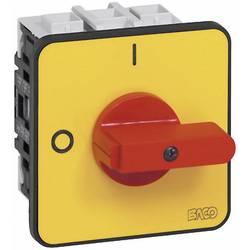 Odpínač BACO BA172202 BA0172202, 50 A, 1 x 90 °, žltá, červená, 1 ks
