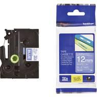 Páska do štítkovače Brother TZe-535, 5834175, 12 mm, TZe, TZ, 8 m, bílá/modrá