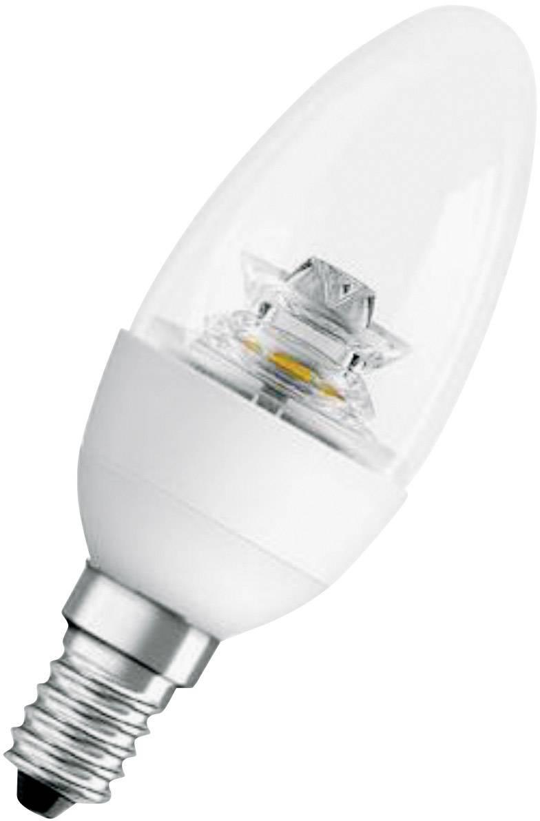 LED žárovka Osram, E14, 6 W, 230 V, 120 mm, teplá bílá