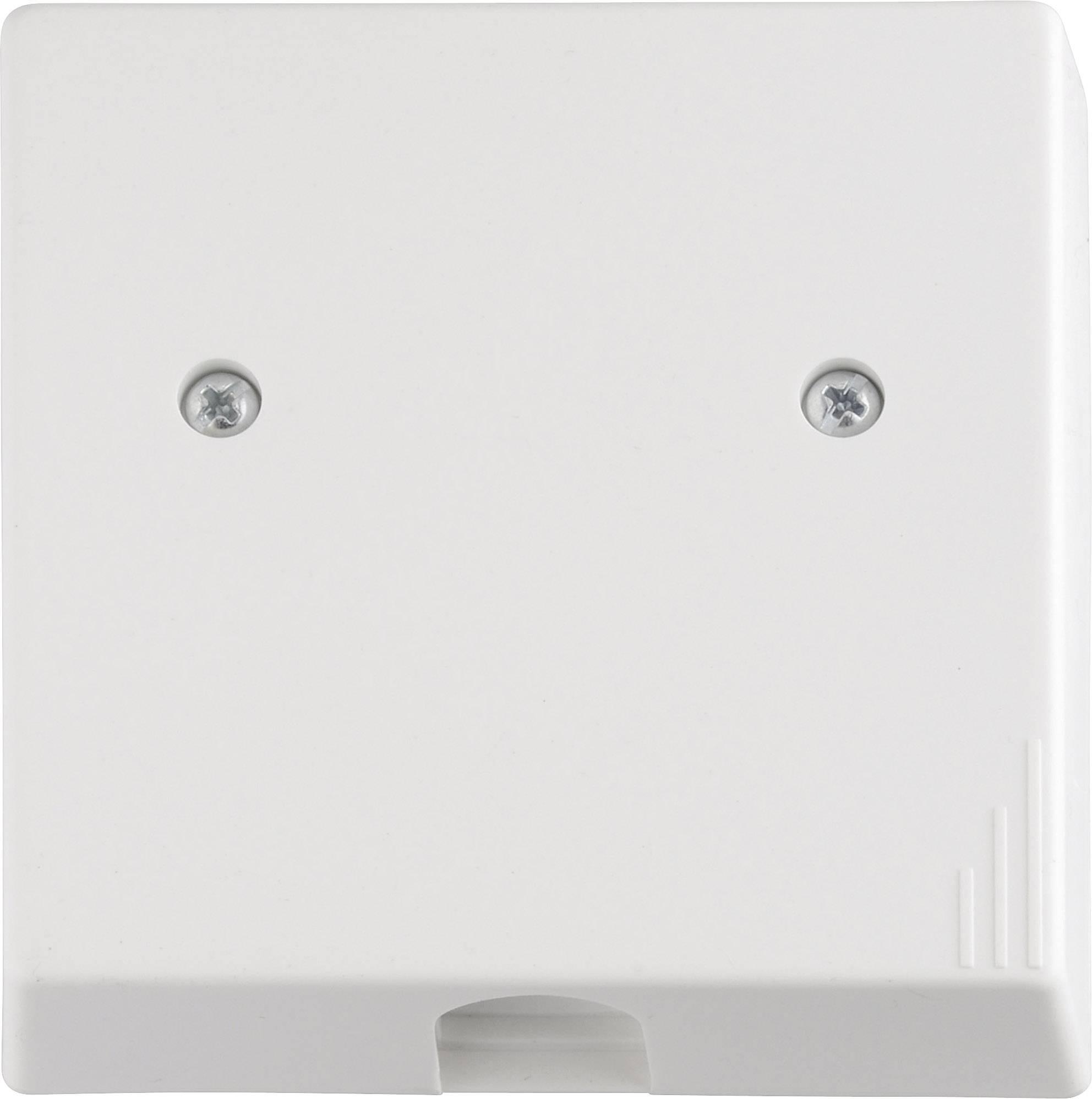 Instalačná krabička na pripojenie sporáku 100183, na omietku, pod omietku, alpská biela