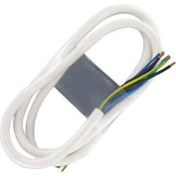 Síťový kabel k připojení sporáku, otevřené konce, 100831, 5 x 2,5 mm², 3 m, bílá