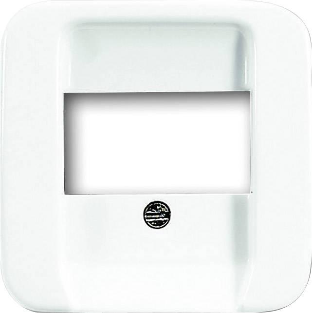 Kryt na telefónna TAE zásuvka Busch-Jaeger 2539-214, alpská biela