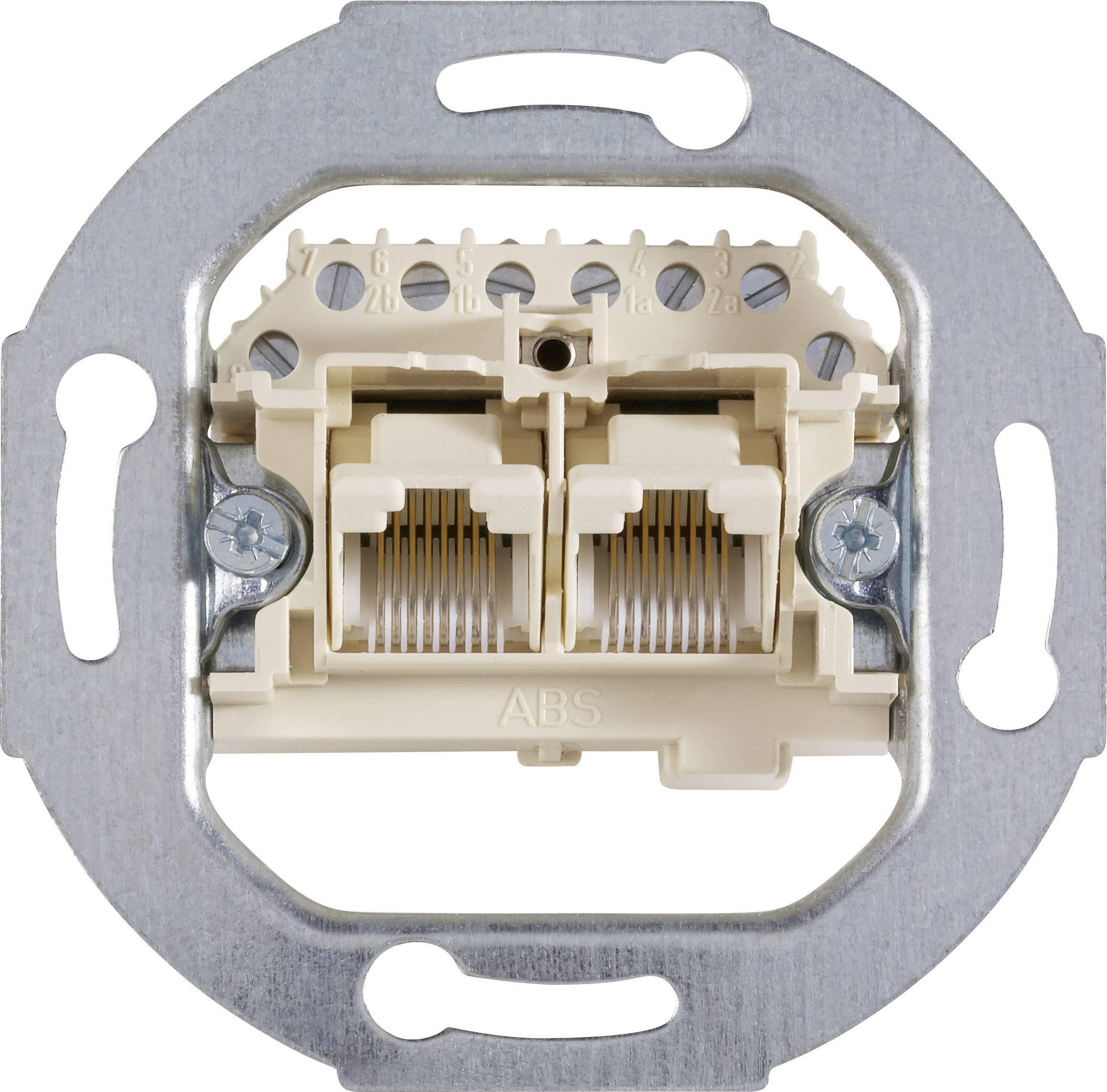 Vložka na UAE/IAE/ISDN zásuvky Busch-Jaeger 0214