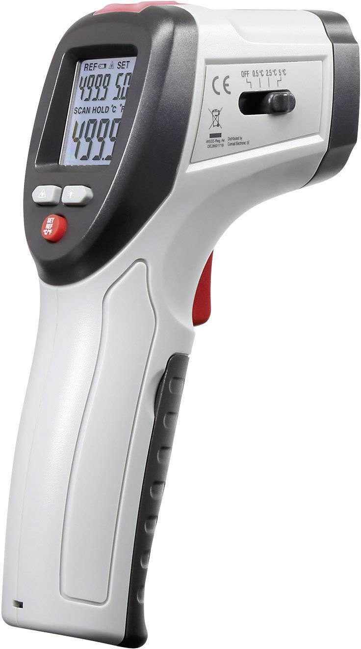 Infračervený teplomer VOLTCRAFT IRF 260-10S, Optika 10:1, -50 do +260 °C
