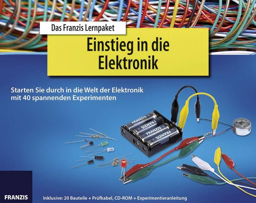 Naučná stavebnice Začátky s elektronikou Franzis Verlag 65196, od 14 let