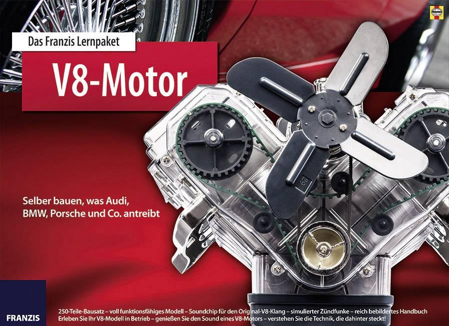 Výukovásada Franzis Verlag V8-Motor 978-3-645-65207-0, od 14 rokov