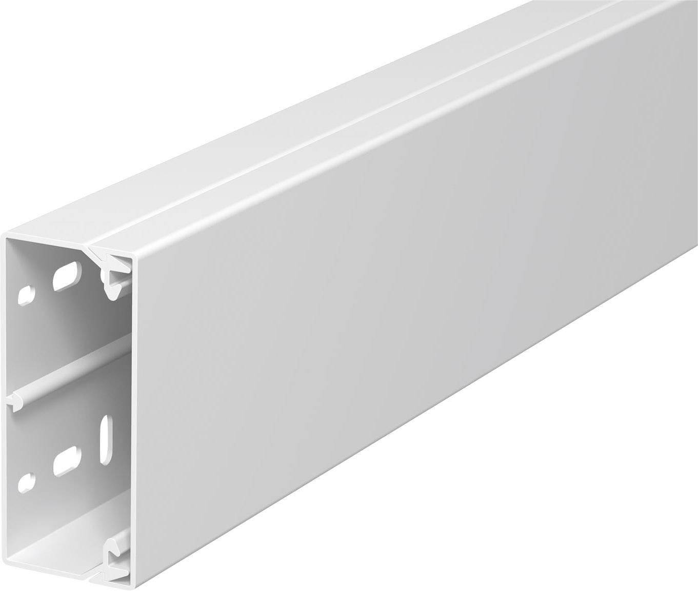 Elektroinstalační lišta s krytem OBO Bettermann, 6191142, 40 x 90 mm, 2 m, bílá