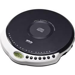 Přenosný CD přehrávač Discman Silva Schneider MCD 30, CD, CD-R, CD-RW, MP3, šedá