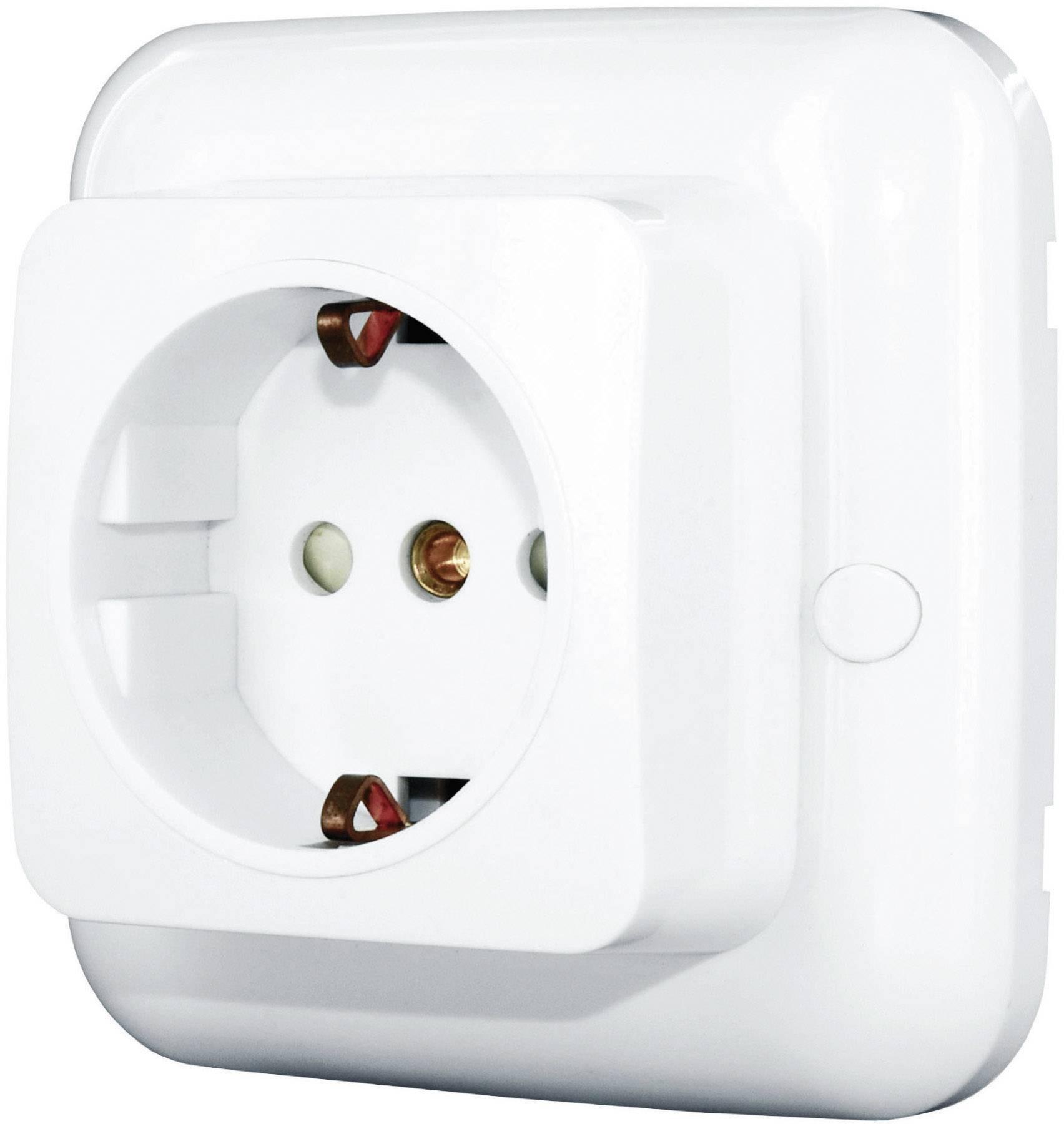 Bezdrátová zásuvka Home Easy, HE881, 1kanálová, 2300 W, 50 m