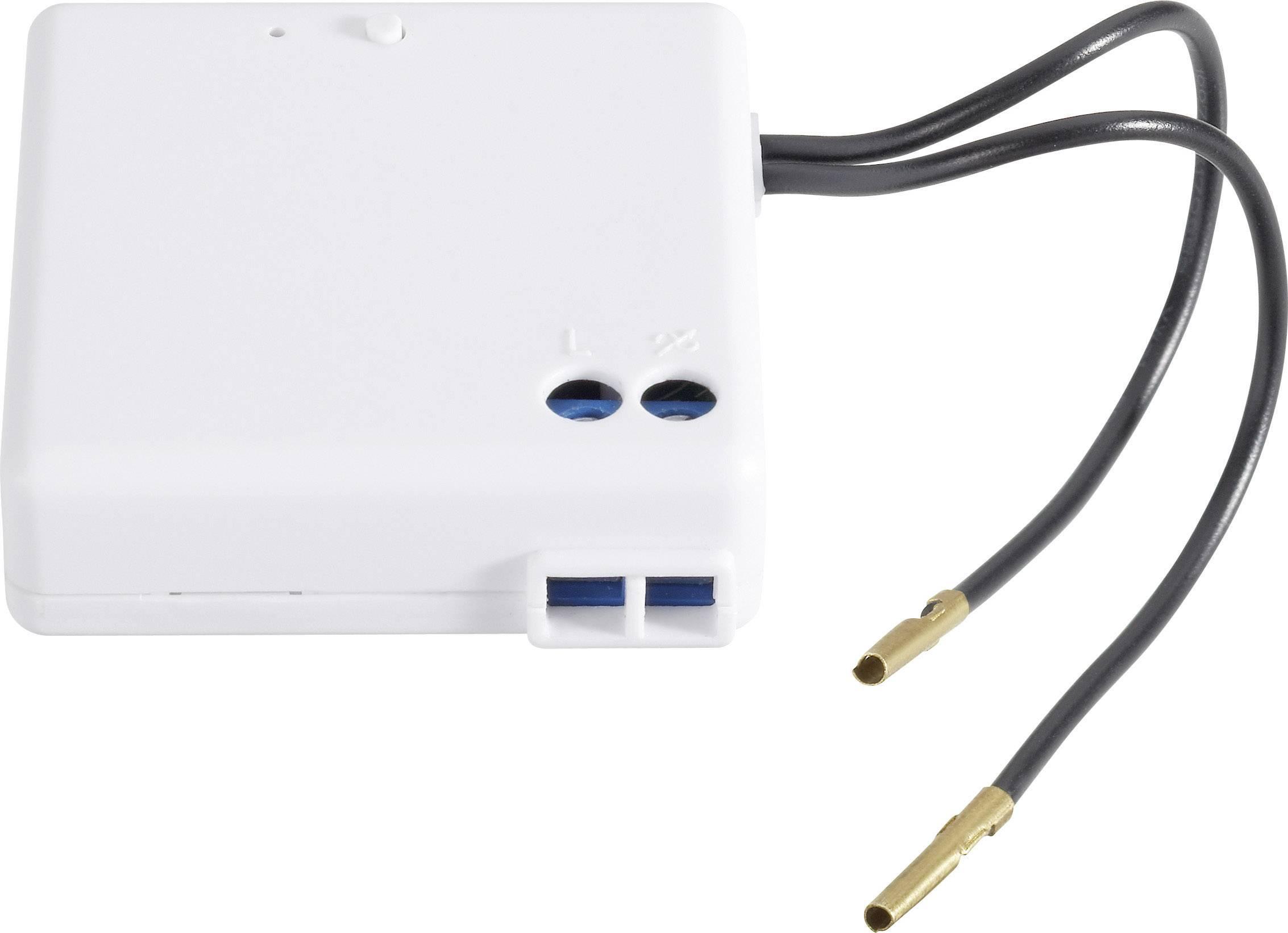 Vstavaný spínač, 2 drôtové pripojenia, Ω. 5 - 300 W, induk. 5 - 100 W
