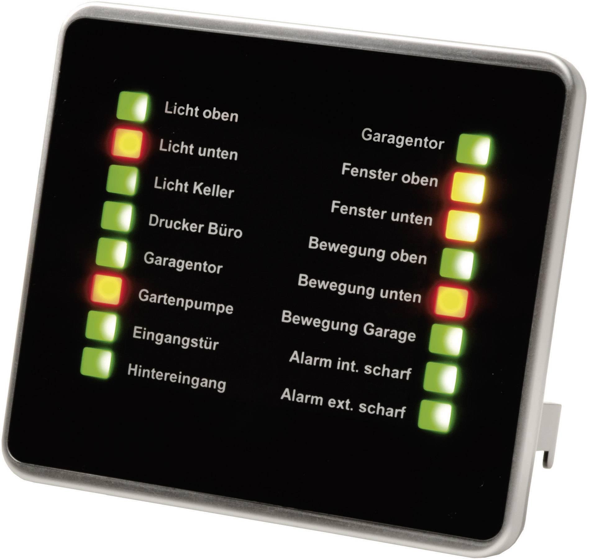 Bezdrôtová doska so stavovými LED HomeMatic eQ-104798