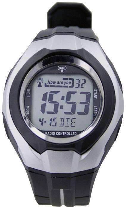 Náramkové DCF hodinky LCD