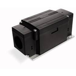 Napájecí modul kulatý kabel - plochý kabel černá, 1 ks