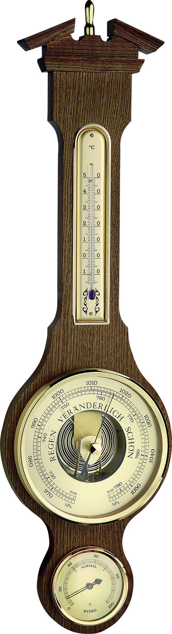 Analógová meteostanica Fischer Wetter Sheraton 542411, dub
