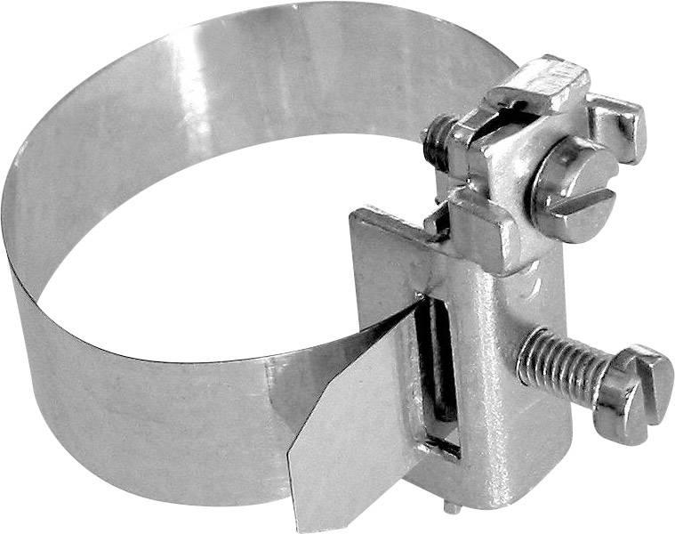 Zemnící pásková svorka 3,2 - 38 mm