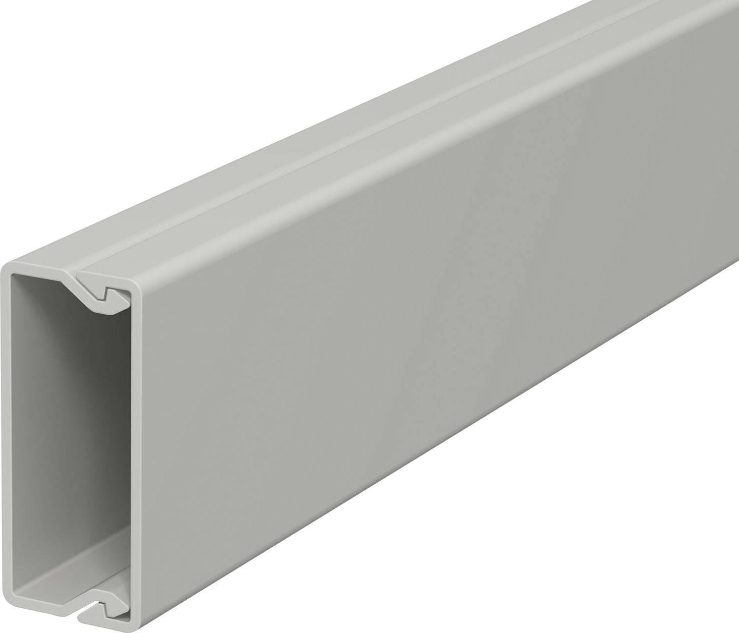 Elektroinstalační lišta s krytem OBO Bettermann, 6189482, 15x40 mm, 2 m, bílá