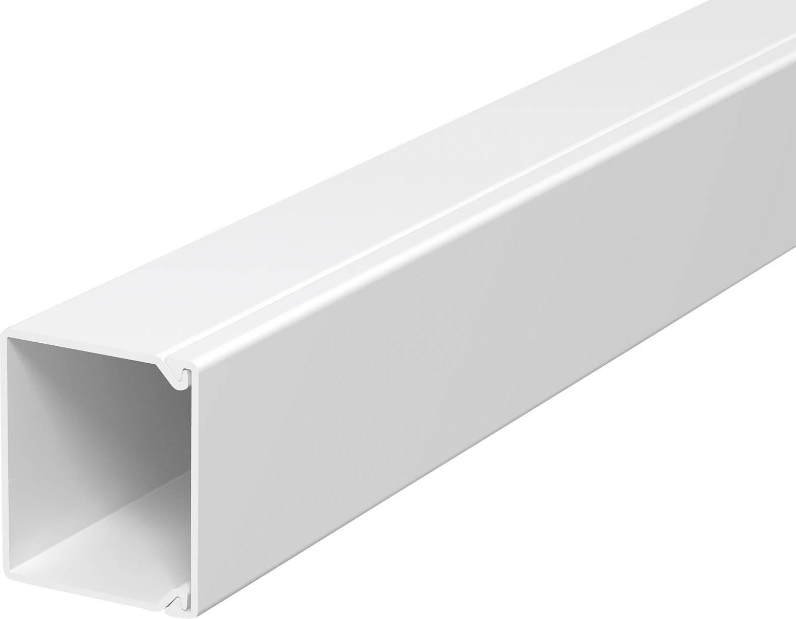 Elektroinstalační lišta s krytem OBO Bettermann, 6189547, 40 x 40 mm, 2 m, bílá