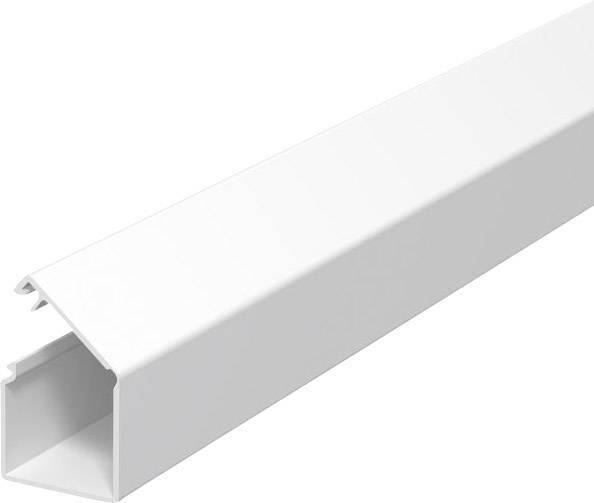 Malá káblová lišta OBO Bettermann 6150187, 2 m, čisto biela