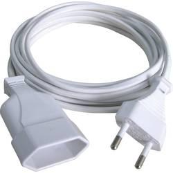 Napájací predlžovací kábel GAO 145601098, IP20, biela, 2.00 m