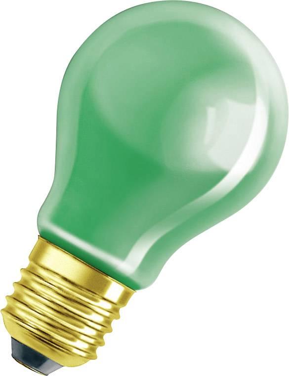 Žárovka LEDVANCE 4008321545893, E27, 230 V, 11 W, zelená, 1 ks