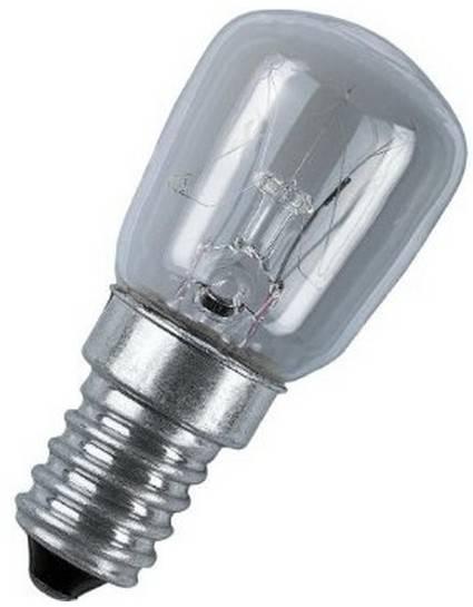 Žárovka do lednice LEDVANCE E14, 57 mm, speciální tvar, 230 V, 25 W, matná, stmívatelná, 1 ks
