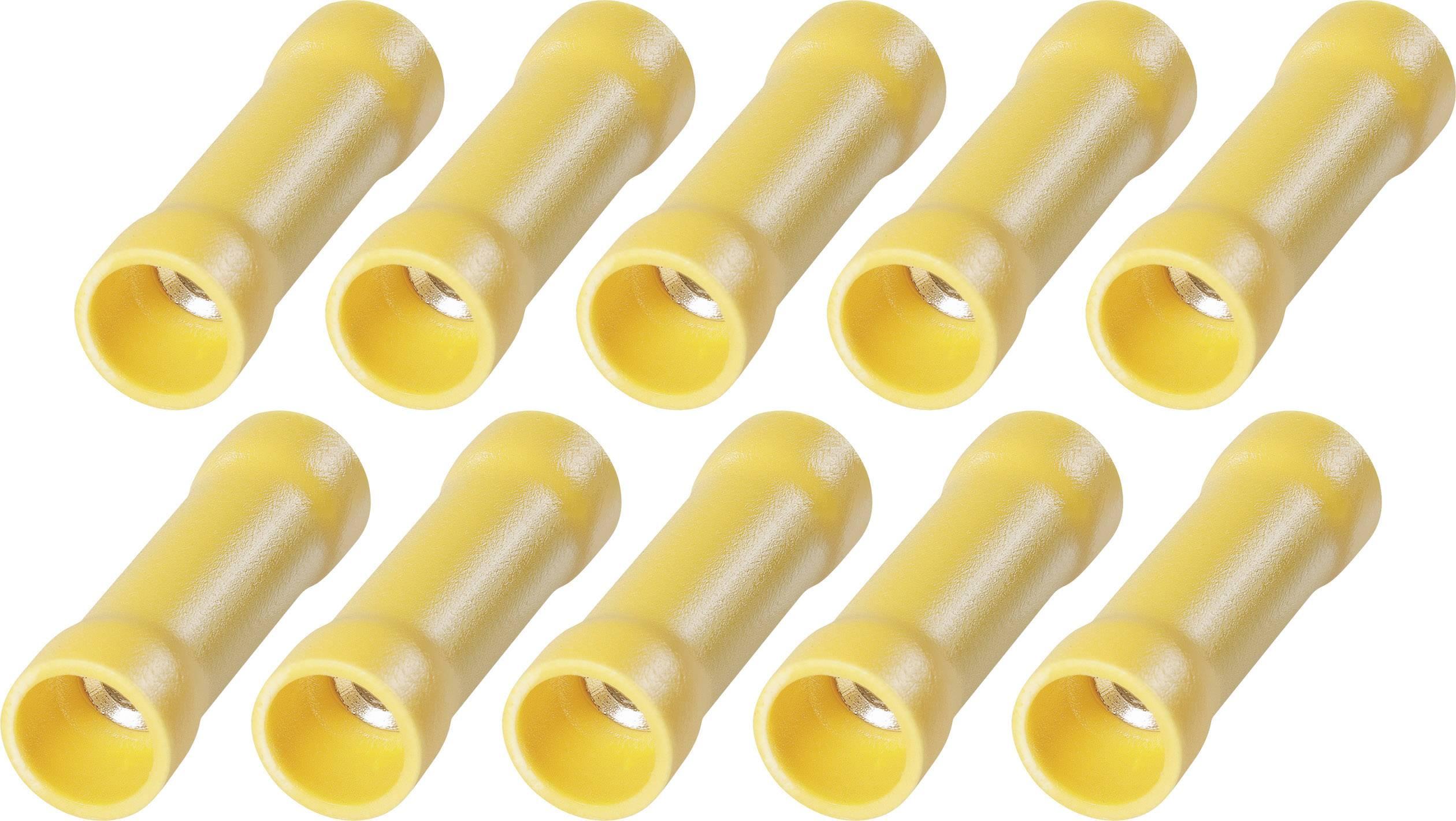 Sada káblových spojok s PVC izoláciou na kábel na EHP 6, 3.254.051, 2,5 - 6 mm², žltá, 10 ks