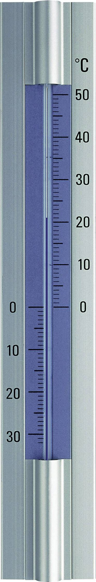 Teplomer TFA 12.2045, hliník, strieborná