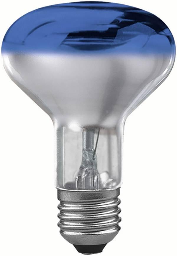 Reflektorová žiarovka R80, modrá, 60 W, E27