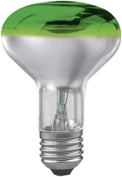 Reflektorová žiarovka R80, zelená, 60 W, E27