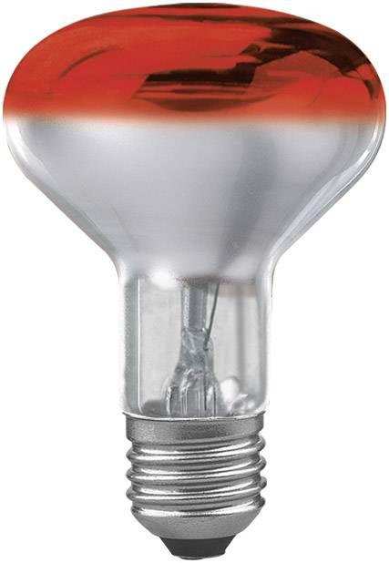 Reflektorová žiarovka R80, červená, 60 W, E27