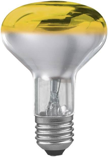 Reflektorová žiarovka R80, žltá, 60 W, E27
