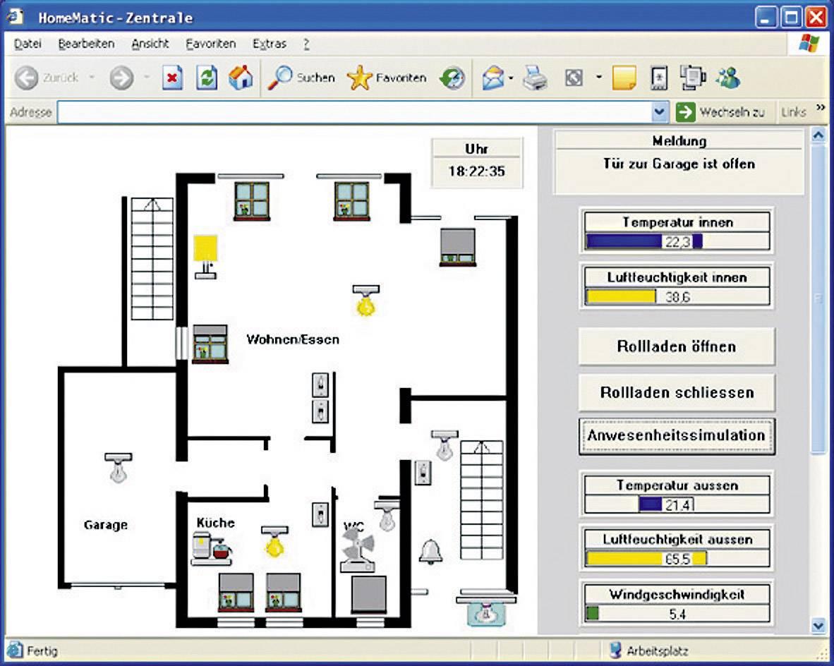 Software HomeMatic Homeputer CL Studio