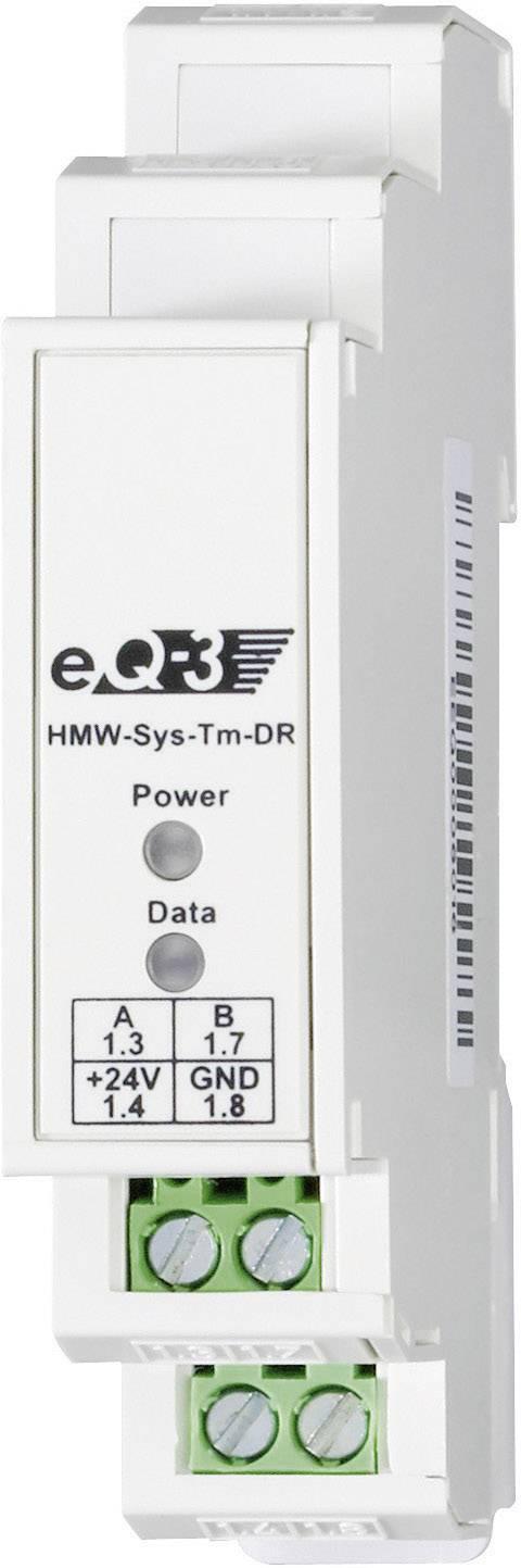 Odpor se sběrnicí RS485 montáž na lištu HomeMatic RS-485-BUSABSCHLUSS-W. 76807