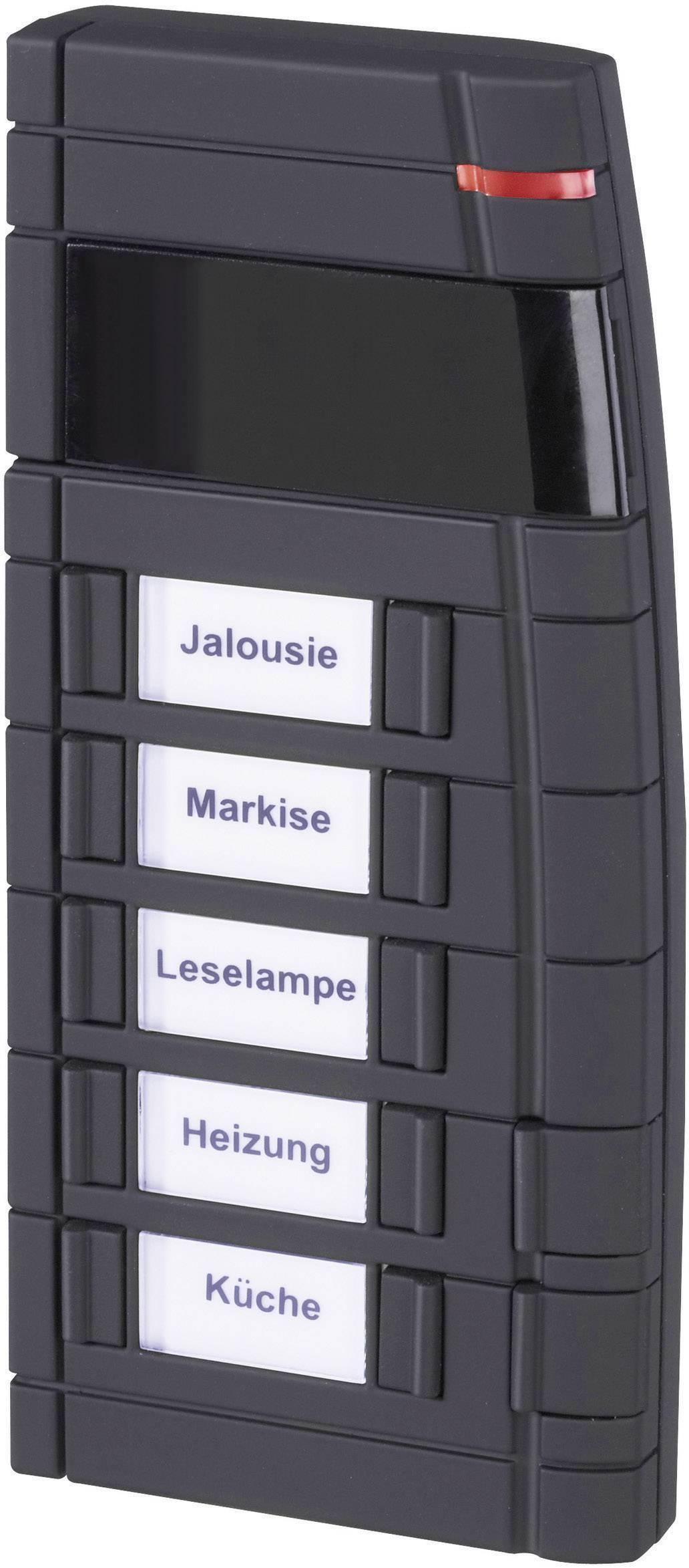 Diaľkové ovládanie HomeMatic s 12 tlačidlami