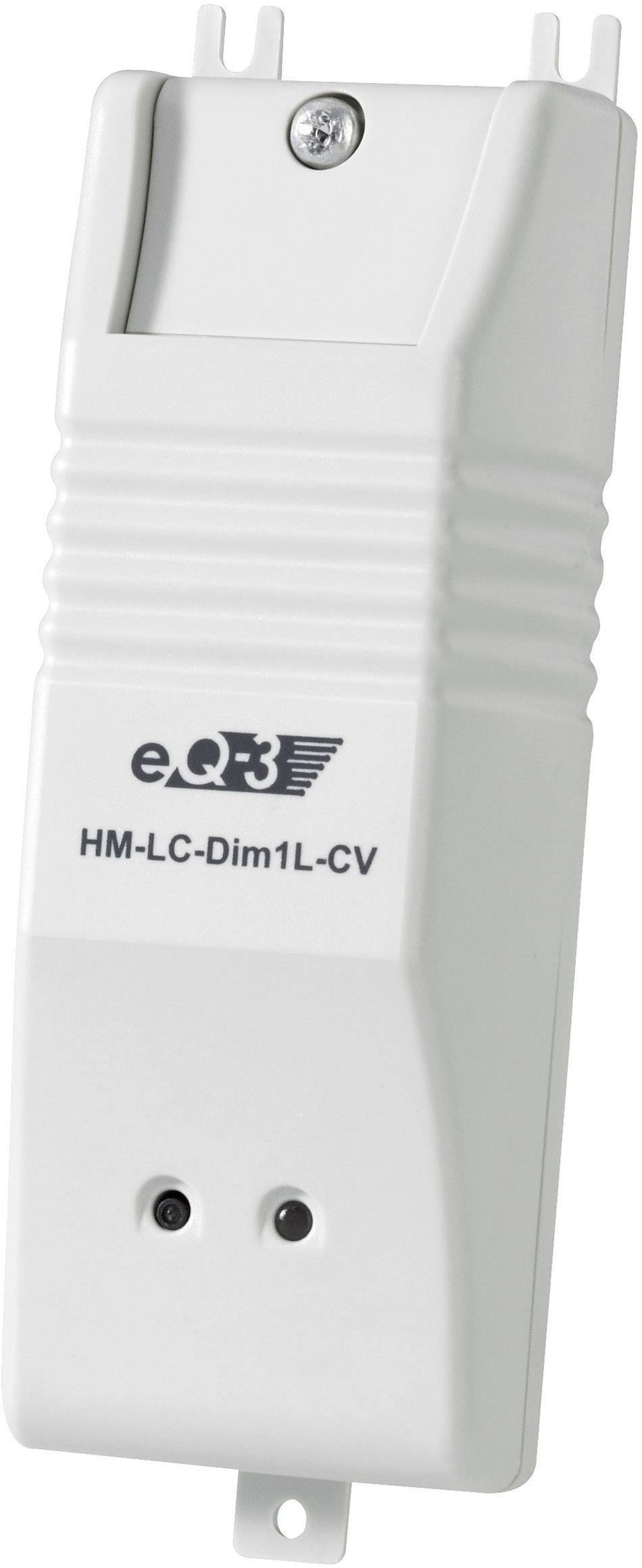 Bezdrátový fázový stmívač do podhledu HomeMatic, 76798, 1kanálový, 200 VA
