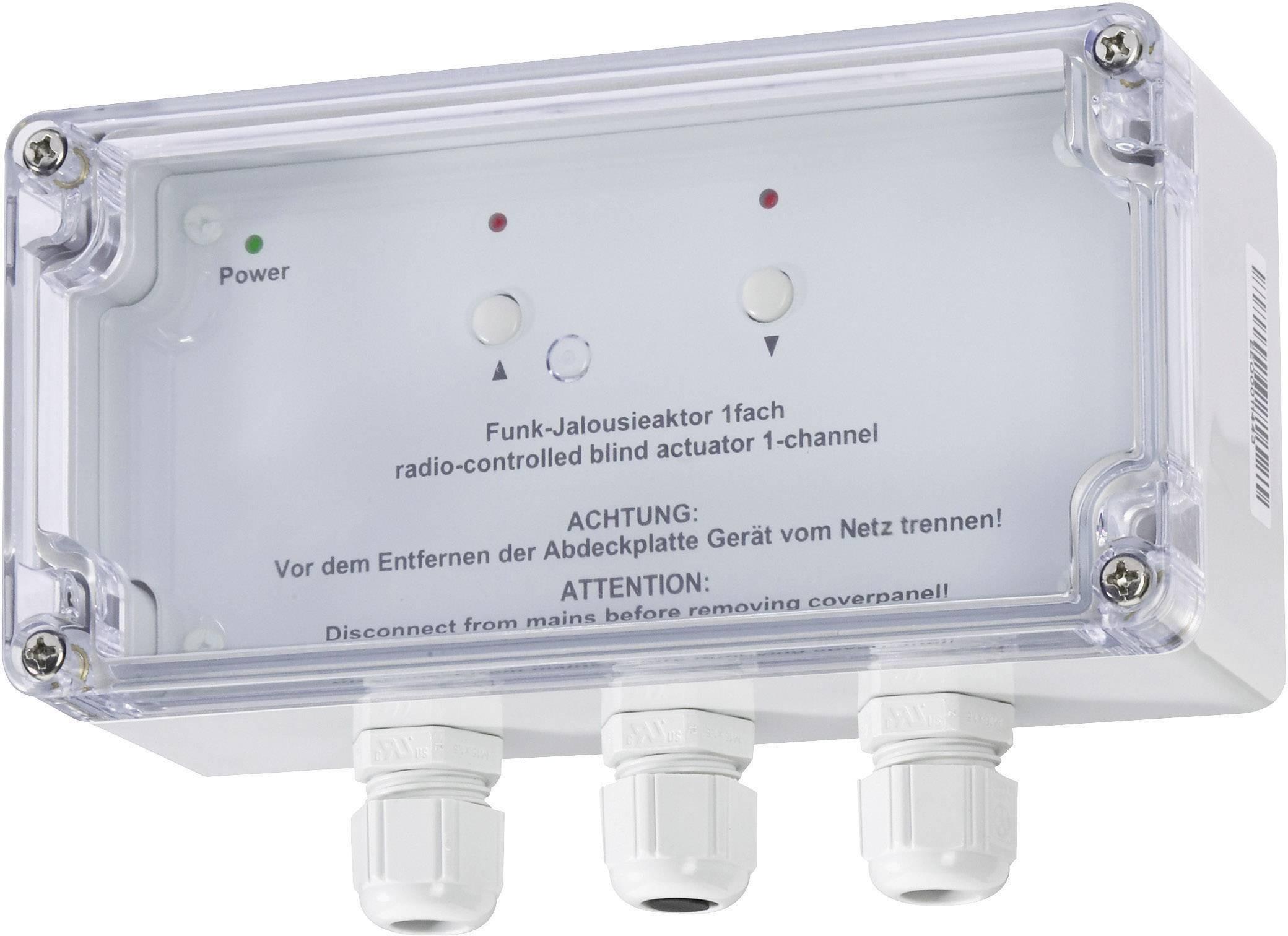 Bezdrôtový ovládač žalúzií HomeMatic