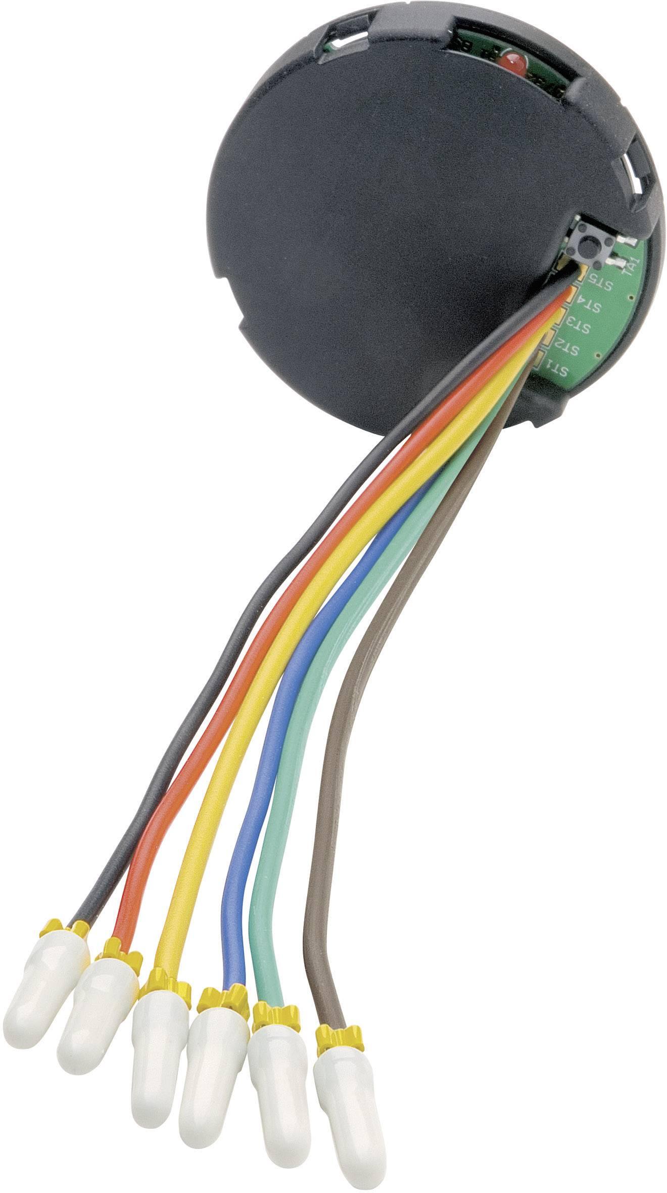 Vysielač HomeMatic pod omietku pre 3 prepínače