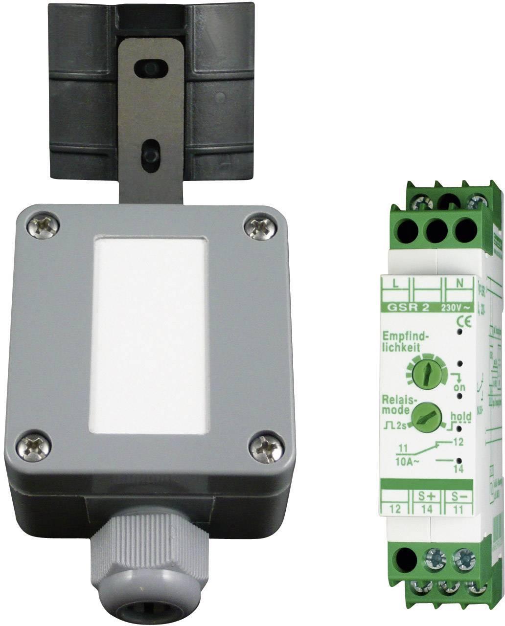 Spínacie relé Kaiser Nienhaus Regen 336400 so senzorom dažďa na DIN lištu