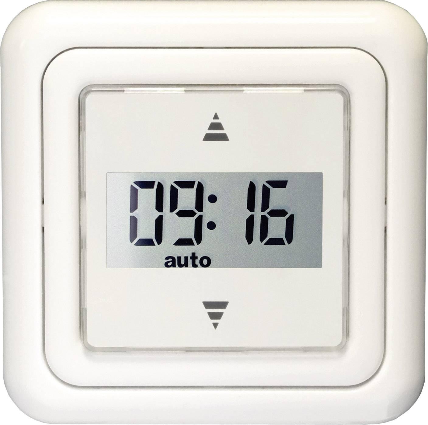 Ovládání rolet s LCD a časovačem Kaiser Nienhaus Tastor Mercato 320050