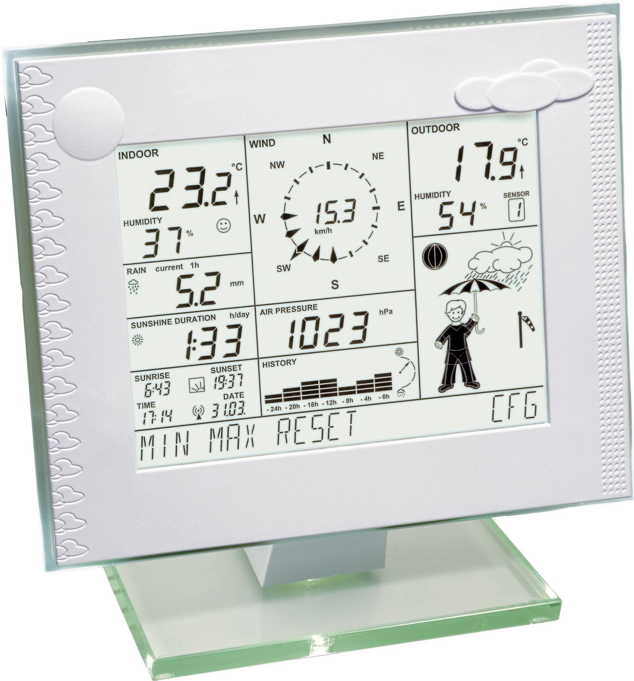 Bezdrôtová mateostanica HomeMatic WDC 7000