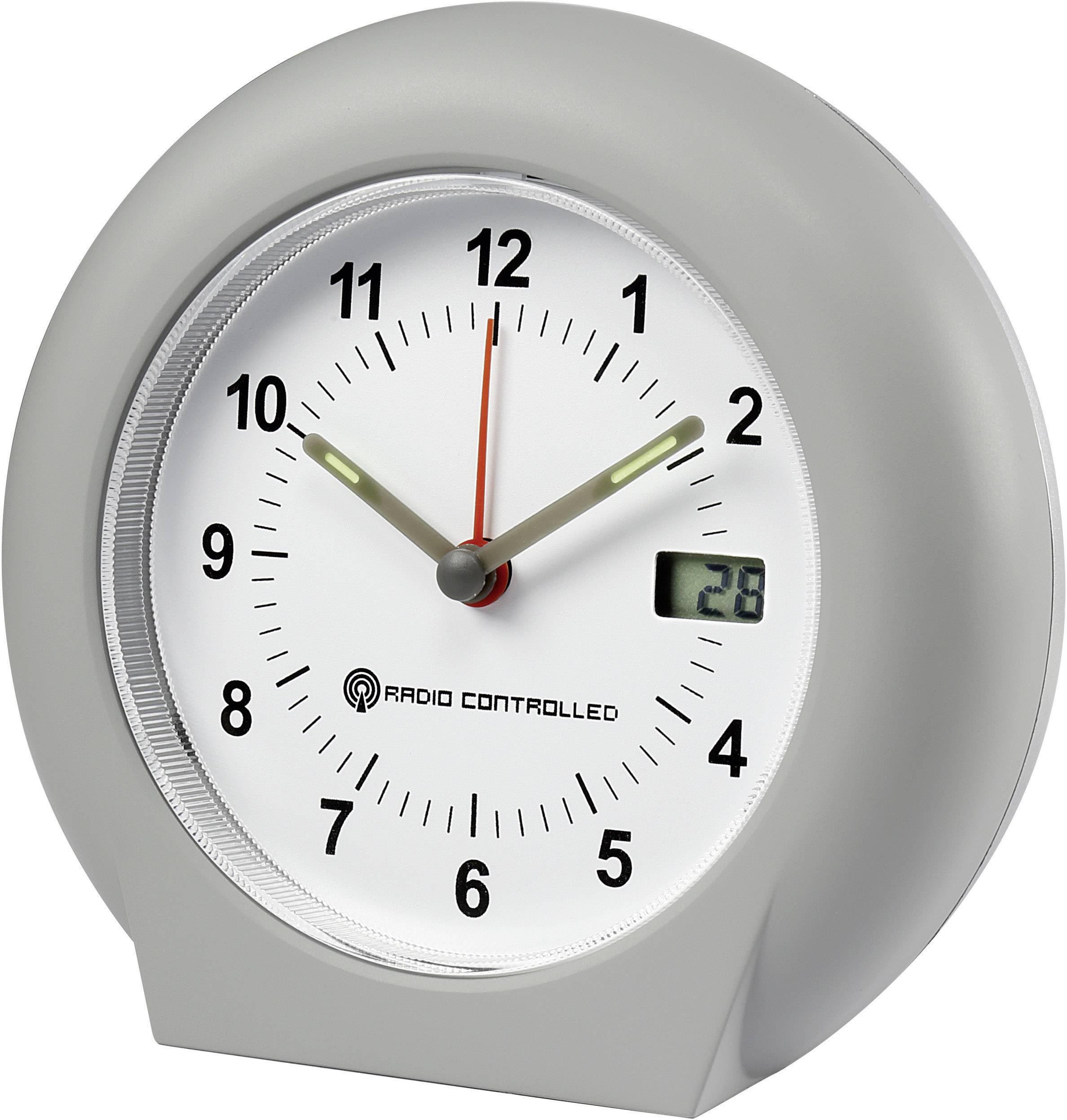 DCF budík Renkforce 50196, časov budenia 1, sivá