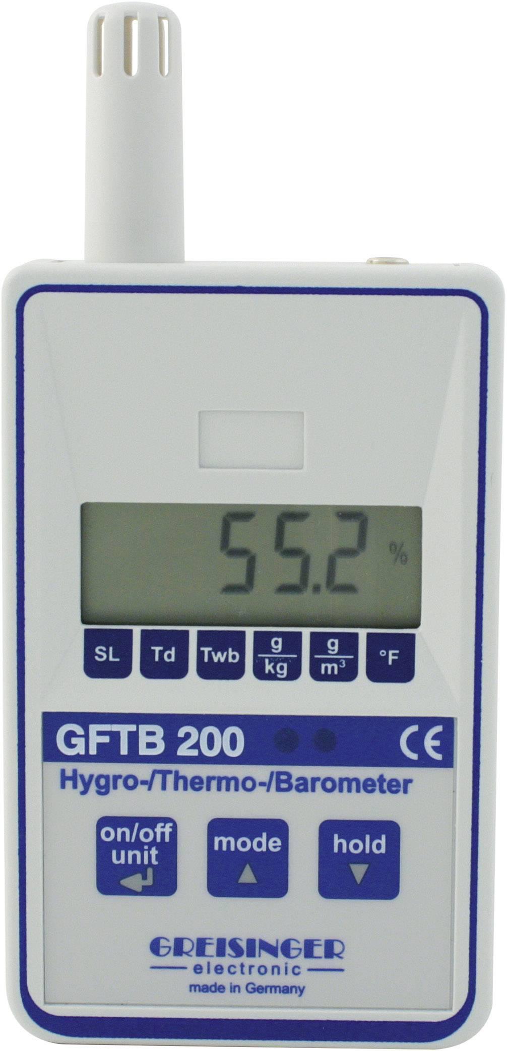 Vlhkomer vzduchu (hygrometer) Greisinger GFTB 200, 0 % r. 601774