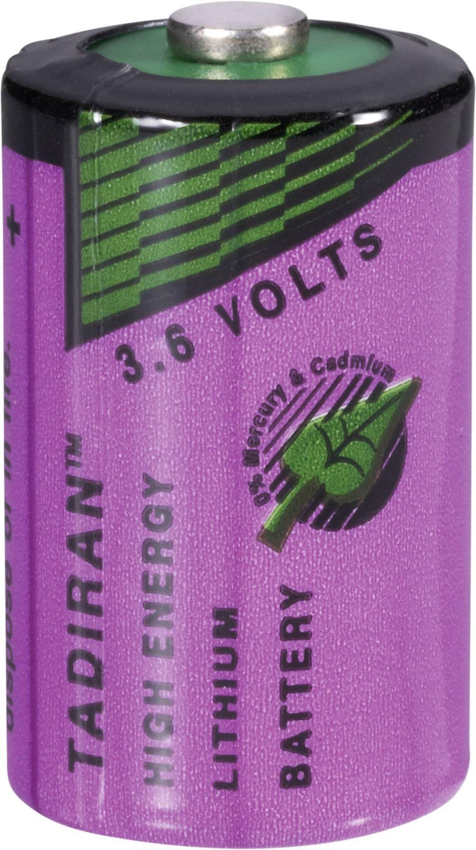 Lithiová baterie Tadiran SL-750/S, typ 1/2 AA