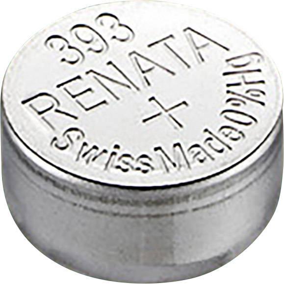 Gombíkové batérie z oxidu strieborného 393